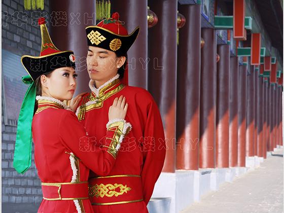 蒙古族婚纱照