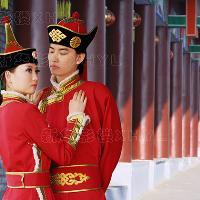 蒙古族婚�照