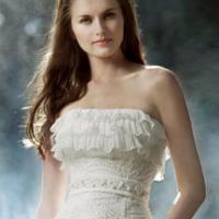 森系婚纱 打造灵动精灵新娘