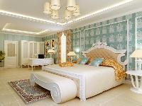 蓬莱苑别墅-欧美-复式装修效果图-蓬莱苑别墅400平别墅现代简欧风格设计方案