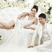 美美的室内婚纱