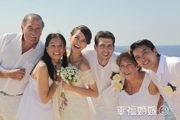 梁咏琪西班牙低调完婚 高妹升级做人妻
