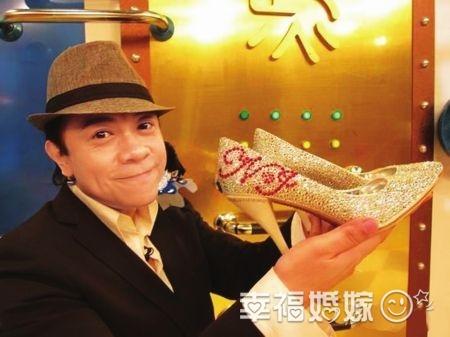 """蔡康永为谢娜设计婚礼""""水晶鞋"""""""