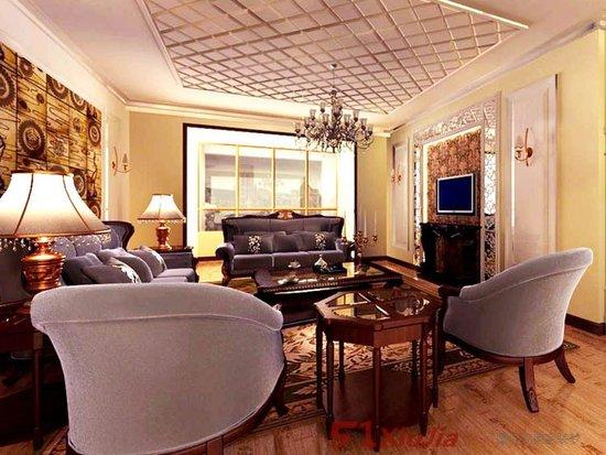 欧式客厅设计风格_家居街