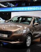 年底上市 国产标致301将上海车展发布