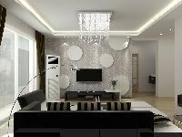 现代-二居装修效果图