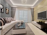 现代风格客厅效果图喜欢