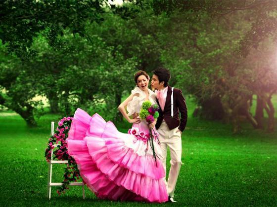 �P里新娘百分百流行婚��^