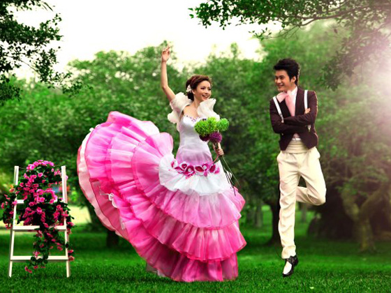 凯里新娘百分百流行婚纱馆