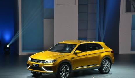 大众汽车CrossBlue Coupé将亮相2013上海国际车展