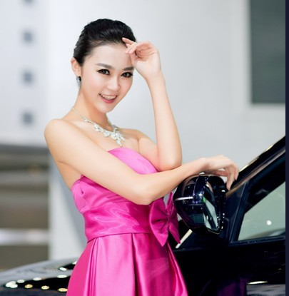 不再以露博眼球 2013上海车展车模更养眼