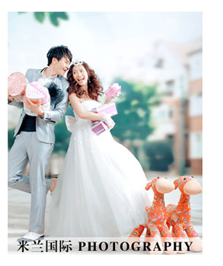 免费拍婚纱照