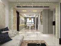 御水天城150平三室两厅户型现代时尚简约风格