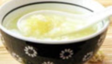 【做法】菊花香�w粥