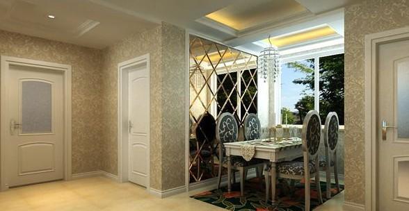 欧式风格两室一厅一卫
