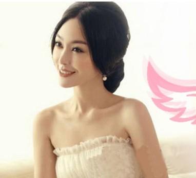 有刘海的新娘发型 有斜刘海的新娘发型 有齐刘海的新娘发型图片