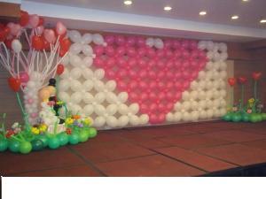 宝鸡炫彩气球装饰部