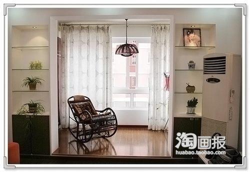 85平米小户型清新简洁家居设计 黄色餐厅大增食欲