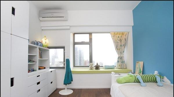 卧室飘窗设计增容空间;