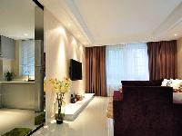 90平方米二室二厅现代简约风格家居装修案例效果图鉴赏