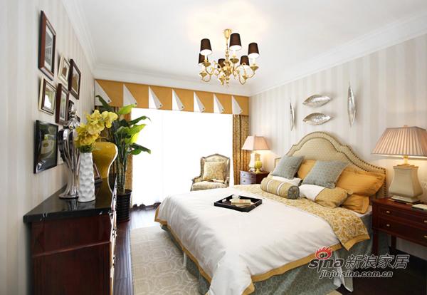 8万装110平美式现代混搭居