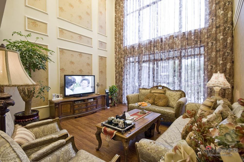 180平美式乡村时尚古典别墅