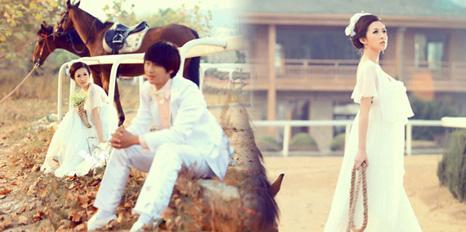 【新娘秀场】有韩国风味的婚纱照