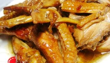 广东家常菜豉油鸡