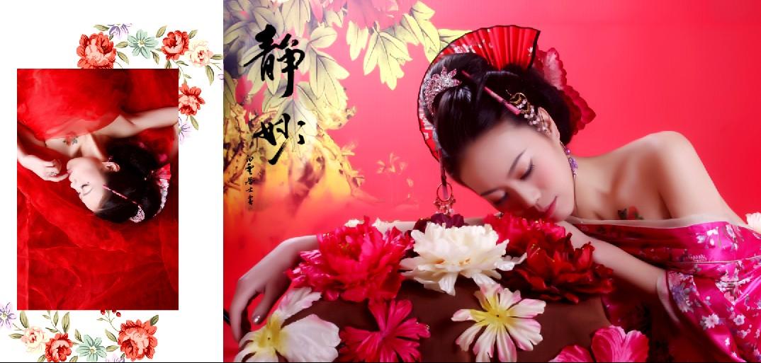 古装写真_作品欣赏_襄汾梦娜丽莎婚纱摄影旗舰店图片