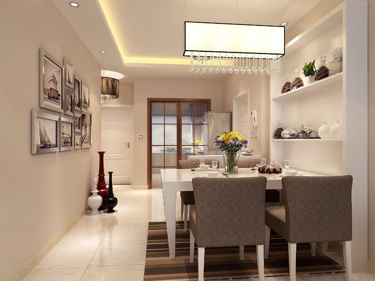 简约现代客厅装修案例图片