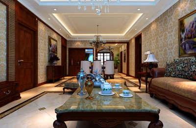 地震局五室两厅简欧式风格装修案例