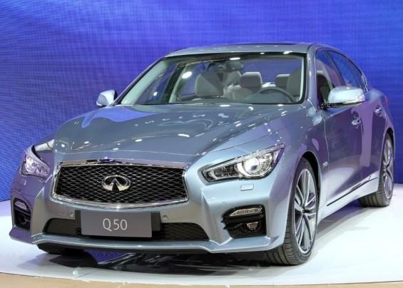 2013上海车展:英菲尼迪Q50亚洲首发