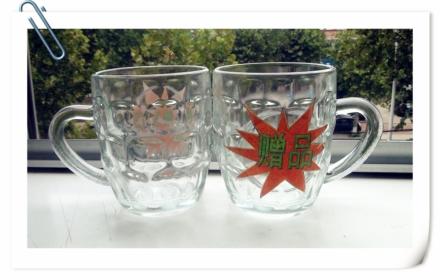 0元领取!市场价10.9元的透明玻璃口杯一个!隔热 防烫手 绿色环保