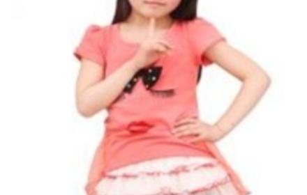 公主休闲T恤连衣裙1213149 粉色