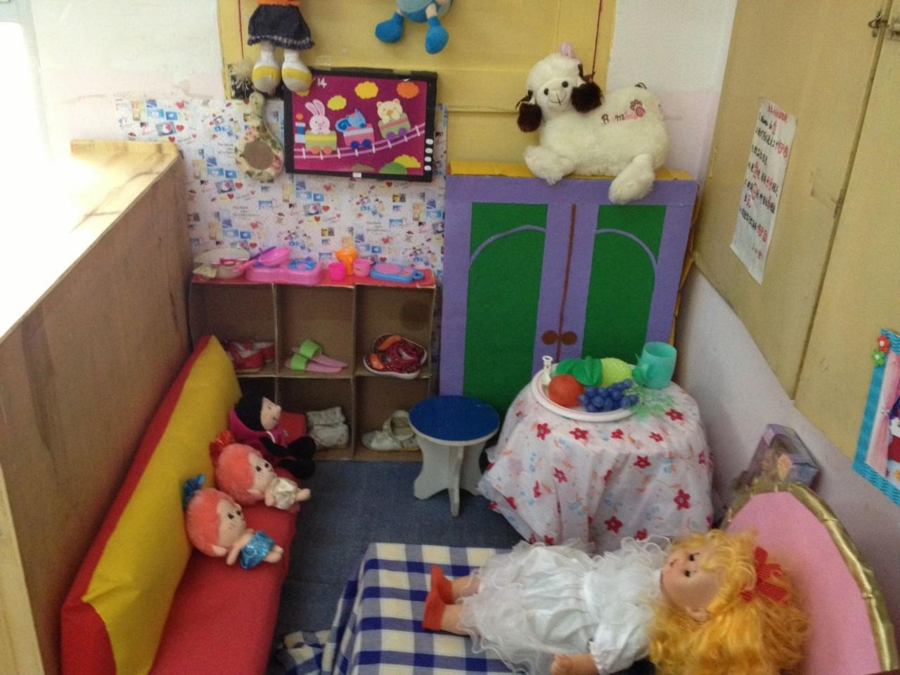 小班区角创设-国内知名幼儿园-小班常规的收获-小班区域创设方案-大班