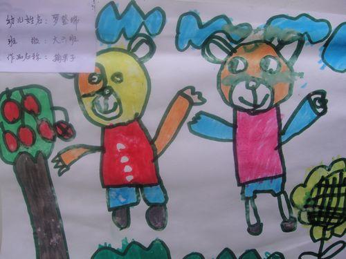 班级部分幼儿绘画作品展一