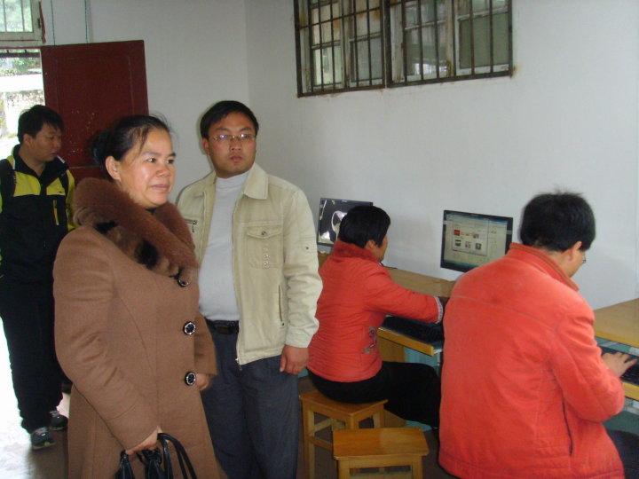 校园网建设项目组织结构图