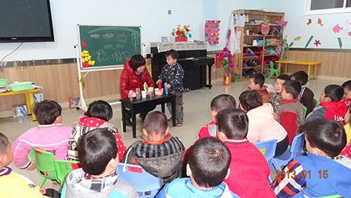 洪州中心幼儿园宝宝活动掠影