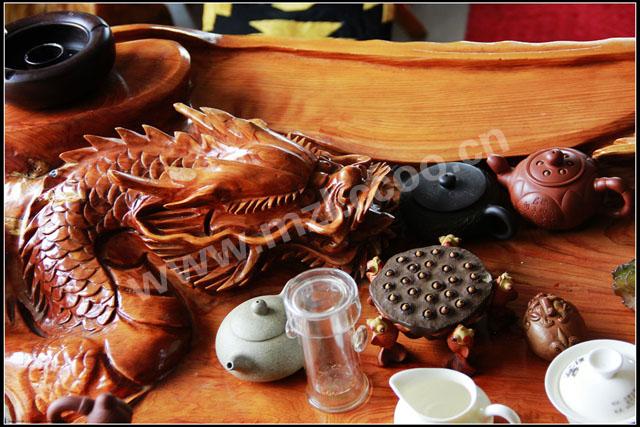 满洲里久景根雕茶具商行