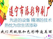 遂宁印刷厂-遂宁市添彩印刷厂