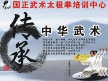 韩城市国正武术太极拳培训中心形象图