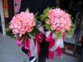 曹娟婚�c漂亮的新娘手捧花