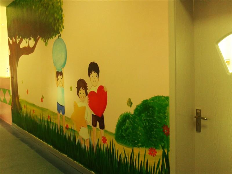 儿童室外墙手绘