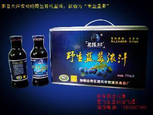 野生蓝莓浓汁黔东南总代理