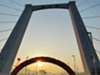 新密溱水大桥开通