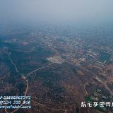 航拍新密青屏山全景 郑州城市学院 航拍新密第二高中